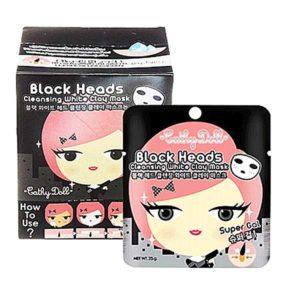 Маска-Пленка Из Белой Глины Cathy Doll Black Heads Cleansing White Clay Mask