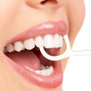Зубная Нить С Держателем