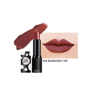 Матовая Губная Помада Malissa Kiss Velvet Matte Lip Color #06 Burgundy Dip