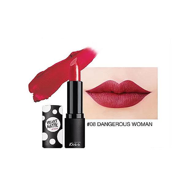 Матовая Губная Помада Malissa Kiss Velvet Matte Lip Color #08 Dangerous Women