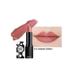 Матовая Губная Помада Malissa Kiss Velvet Matte Lip Color #12 Gimme Penny