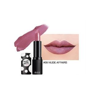 Матовая Губная Помада Malissa Kiss Velvet Matte Lip Color #09 Nude Affairs