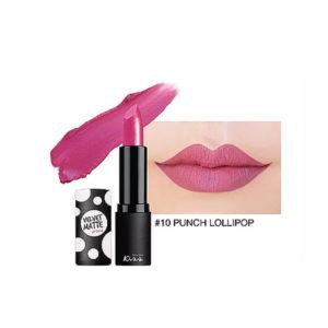Матовая Губная Помада Malissa Kiss Velvet Matte Lip Color #10 Punch Lollipop