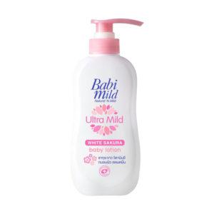 Детский Лосьон Для Тела Ультра Мягкий Белая Сакура Babi Mild Ultra Mild Baby Lotion White Sakura