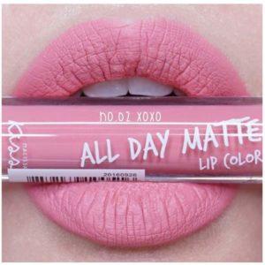 Жидкая Матовая Помада #02 XoXo Malissa Kiss All Day Matte Lip