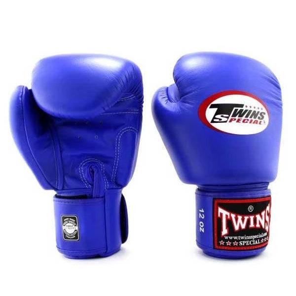 Боксерские перчатки цвет синий