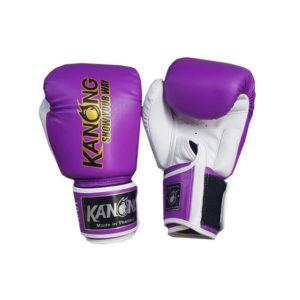 Перчатки для бокса фиолетовые