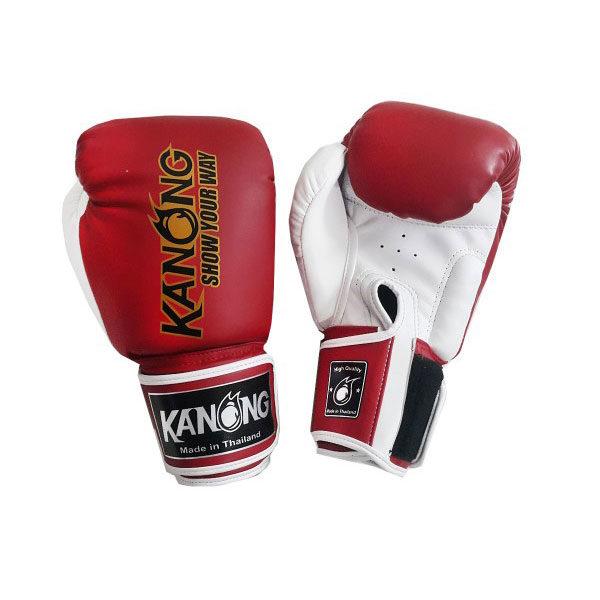 Перчатки для бокса красные