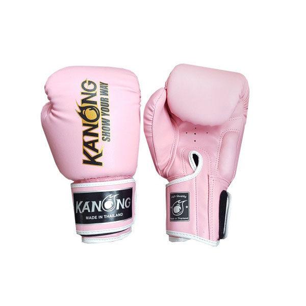 Перчатки для бокса розовые