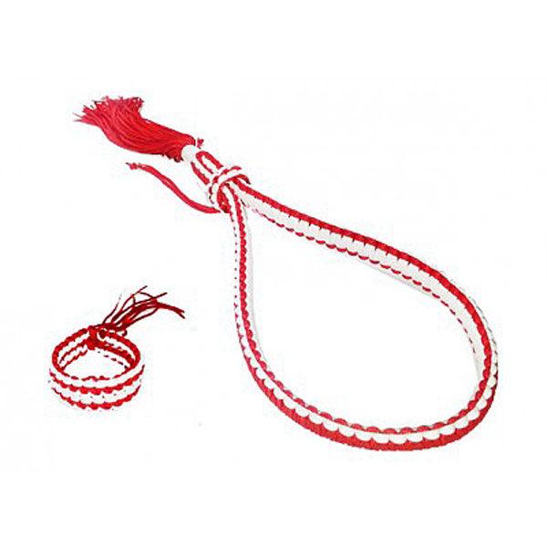 Монгкон И Пратьиат Бело-Красный Boxsense Authentic Mongkol & Prajead