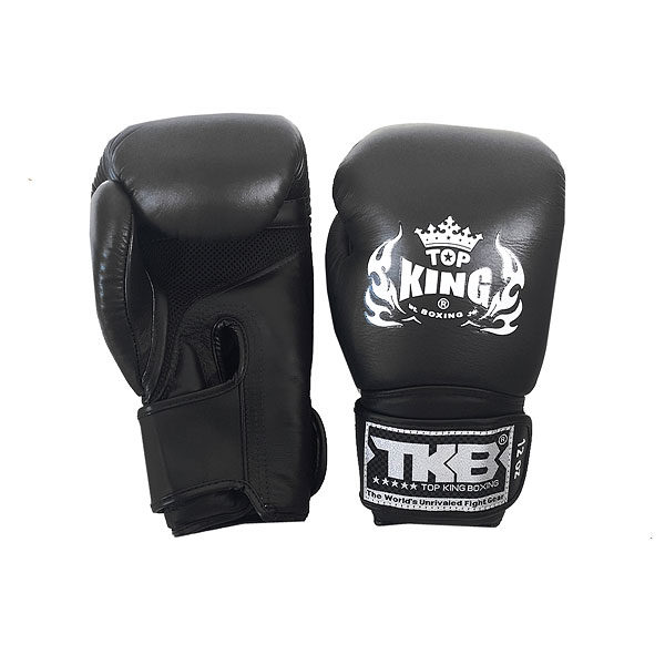 Боксерские перчатки черный цвет