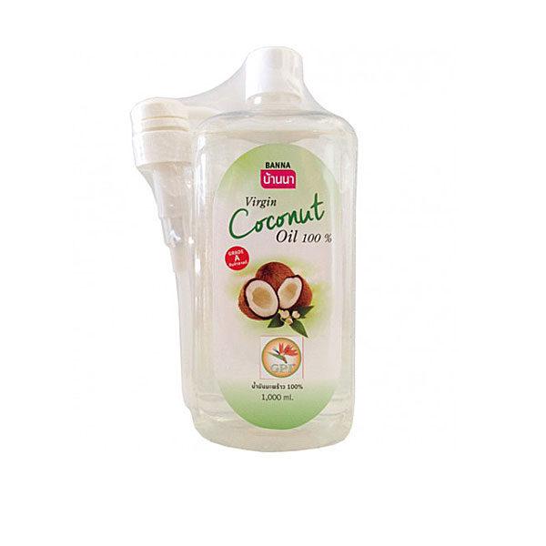 Натуральное кокосовое масло 1000 мл.