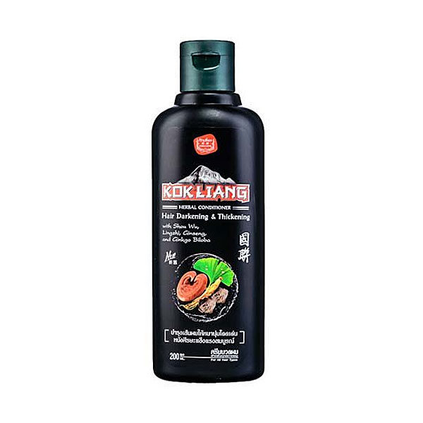 Травяной бальзам для темных волос