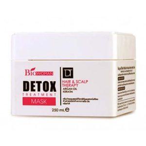 Угольная Маска Для Волос Bio-Woman Detox Treatment Mask