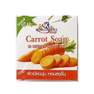 Тайское мыло морковное