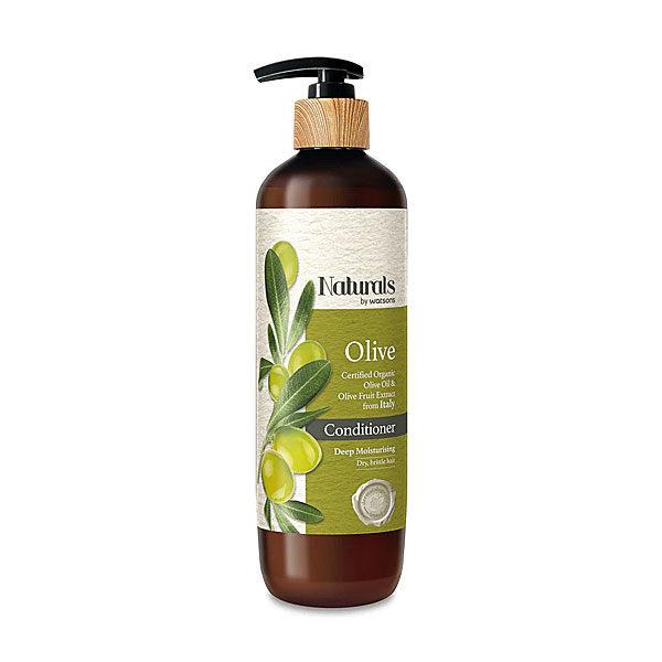 Увладжняющий оливковый кондиционер для волос