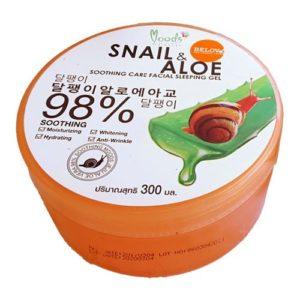 Гель Алоэ Вера И Муцин Belov 98% Aloe Vera Snail Soothing Gel
