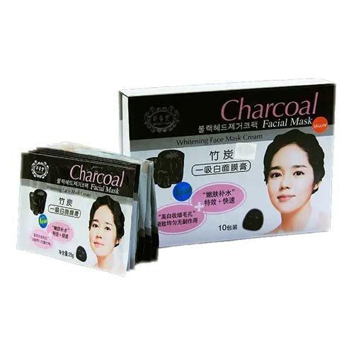 Угольная Тканевая Маска Для Лица Belov Charcoal Facial Whitening Mask