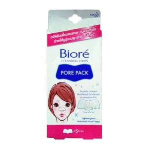 Очищающие Полоски Для Носа Biore Pore Pack Cleansing Strips