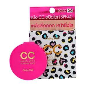 Компактная CC Пудра SPF40+ Cathy Doll Speed White CC Powder