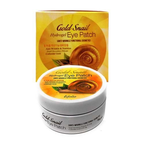 Гидрогелевые Патчи Золото И Улитка Esfolio Gold Snail Hydrogel Eye Patch