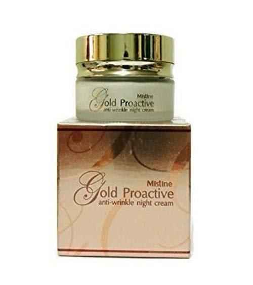 Ночной Крем Против Морщин С Биозолотом Mistine Gold Proactive Anti-Wrinkle Night Cream