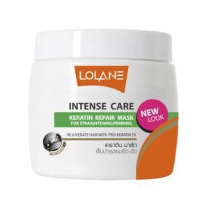 Маска для восстановления поврежденных волос с кератином и медом
