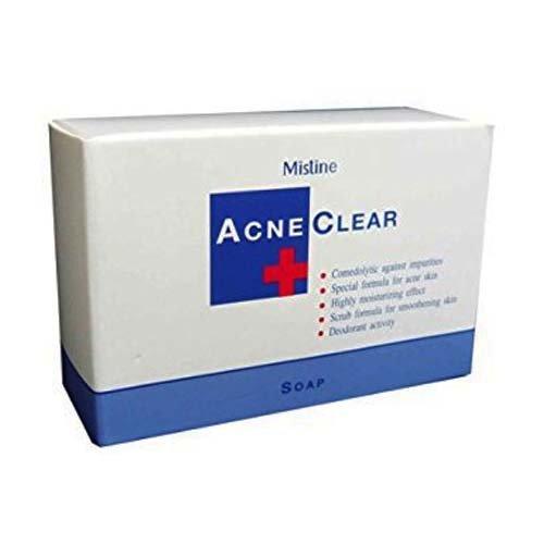 Мыло Для Проблемной Кожи Лица Против Прыщей Mistine Acne Clear Soap