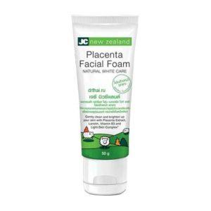 Пенка Для Умывания Омолаживающая Placenta Facial Foam JC