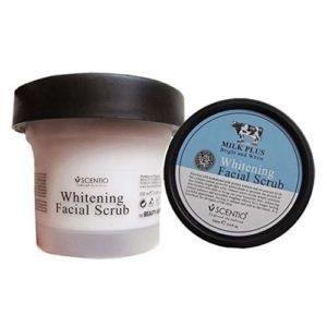Молочный Скраб Для Лица Scentio Milk Plus Whitening Q10 Facial Scrub