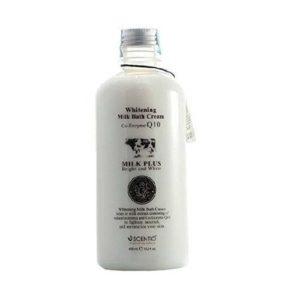Молочный Кремовый Гель Для Душа Scentio Milk Plus Co-Enzyme Q10 Whitening Milk Bath Cream