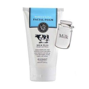Молочная Пенка Для Умывания Scentio Milk Plus Facial Foam