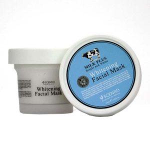 Интенсивная Омолаживающая Маска Для Лица Scentio Milk Plus Whitening Q10 Facial Mask