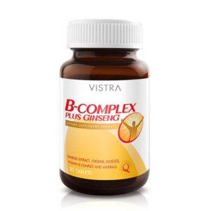 Комплекс витаминов группы B и женьшень