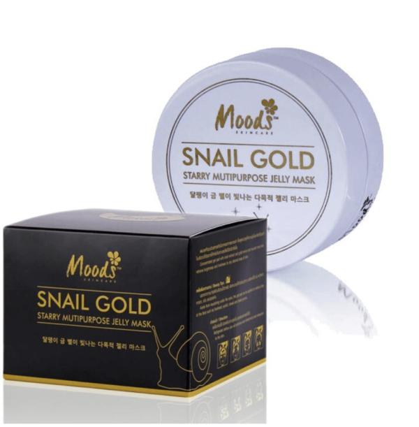 Гидрогелевые Патчи С Улиткой И Золотом Moods Snail Gold