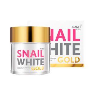 Антивозрастной Крем С Экстрактом Секреции Улитки Namu Life Snail White Gold