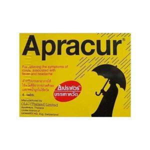 Таблетки от гриппа Apracur