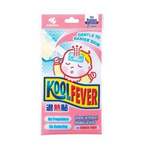 Жаропонижающий Пластырь Для Детей от 0 до 2 лет Kobayashi Koolfever, 6 шт.