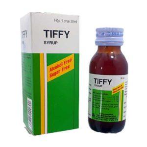 Сироп от простуды Тиффи