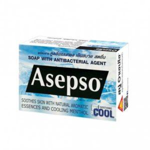 Антибактериальное мыло Асепсо c ментолом
