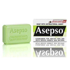 Освежающее антисептическое мыло Асепсо