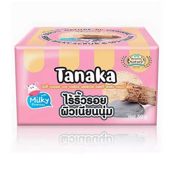 Скраб с танакой и молочной эссенцией