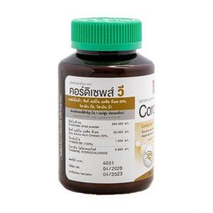 Кордицепс Витаминный Комплекс Cordyceps V Khaolaor 36 шт